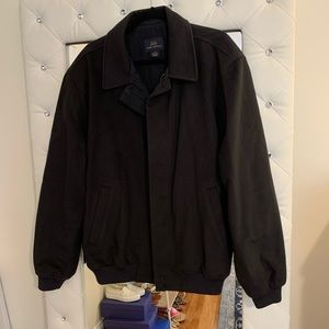Brooks Brothers Wool Bomber Jacket